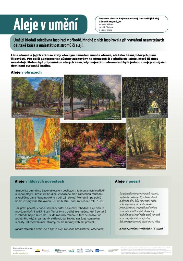 panel 6 - alej v uměnímini
