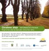 Výstava Chraňme aleje - pro zachování typického rázu české krajiny