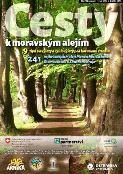 Cesty k moravským alejím - turistický průvodce