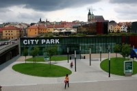 City Park - obchodn dm u historickch hradeb