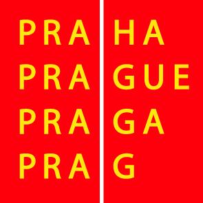 Praha logo bar