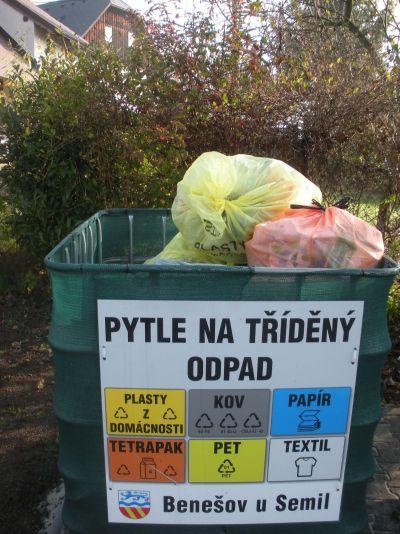 Nová data o třídění odpadů v obcích