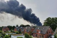 Ničivá havárie spalovny nebezpečných odpadů v Leverkusenu