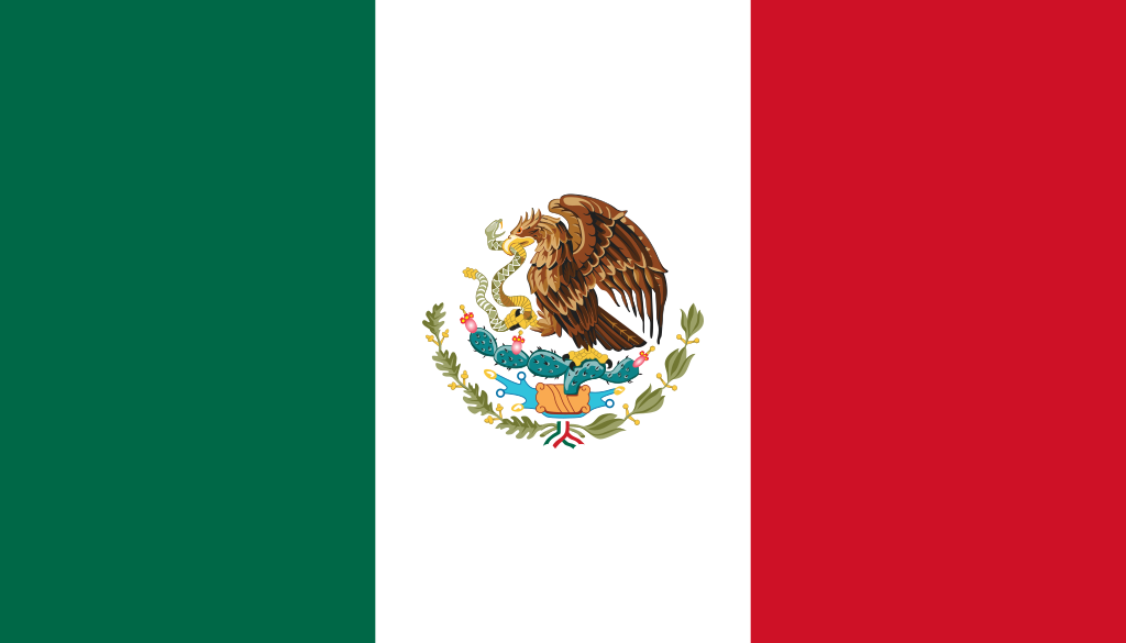 1024px-Flag of Mexico