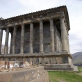 Restored Greek temple in Garni